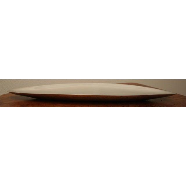 Nambe Long Elongated Mid Century Modern Style Dish - Image 5 of 7