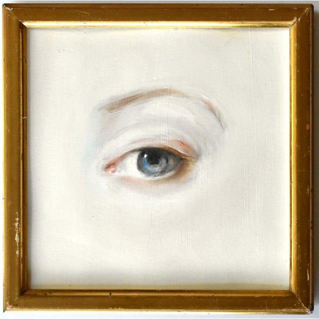 Contemporary Contemporary Lover's Eye Painting by Susannah Carson For Sale - Image 3 of 3