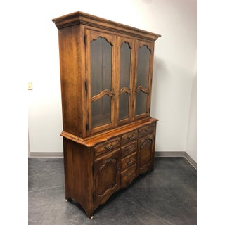 Ethan Allen French Country China Cabinet Preview