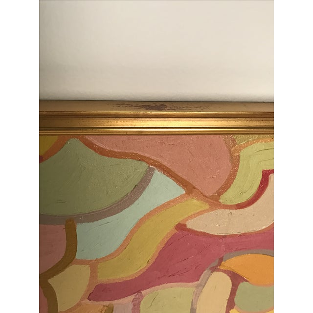 Lois Stecker Acrylic Abstract Painting For Sale - Image 4 of 6