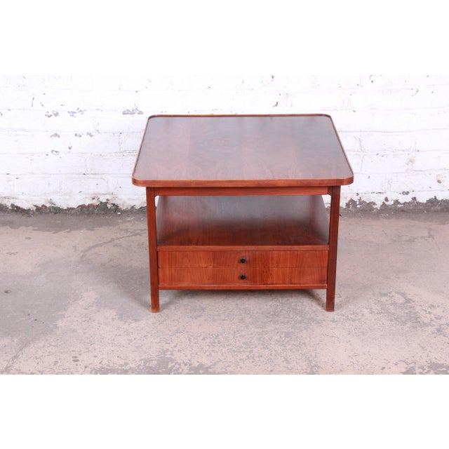 Danish Modern Jack Cartwright for Founders Rosewood Cocktail Table or Occasional Table For Sale - Image 3 of 11