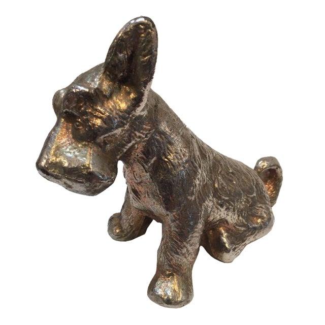 Vintage Scottish Terrior Dog Statue - Image 1 of 5