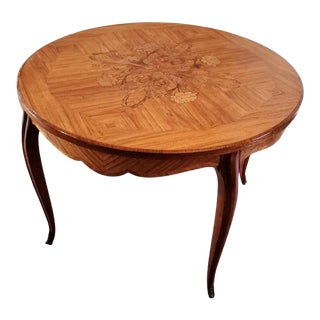 Mid-Century French Louis XV Low Table For Sale