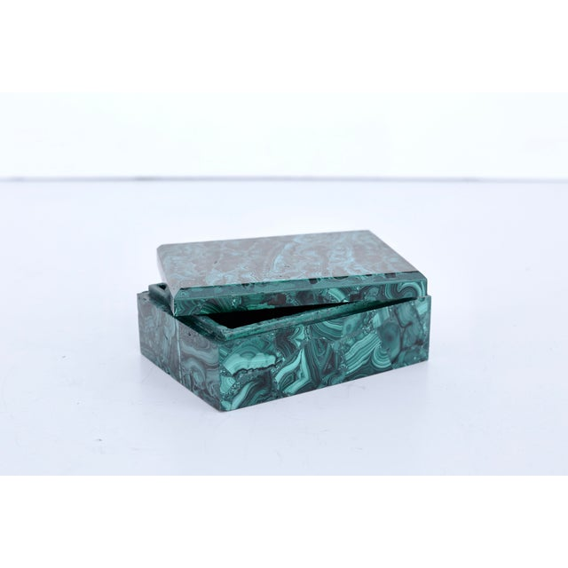 Malachite Box For Sale In Los Angeles - Image 6 of 6