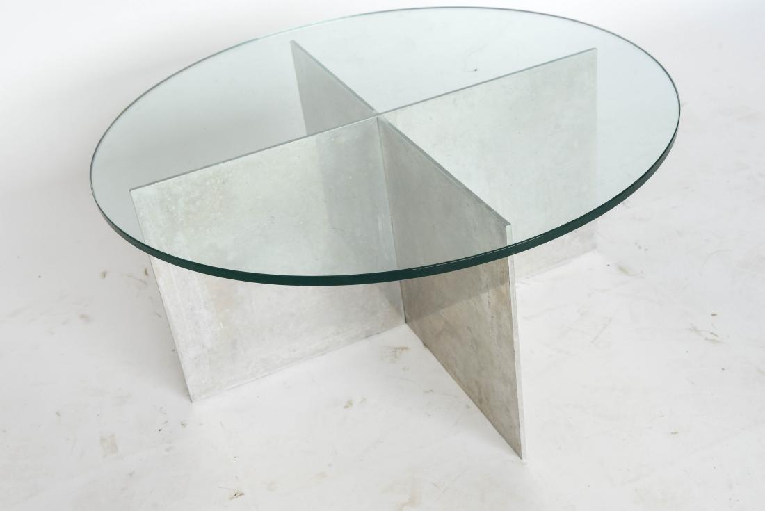 Attractive Paul Mayen For Habitat Minimalist Aluminium Coffee Table   Image 3 Of 5
