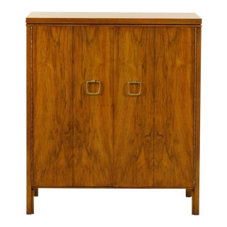 Unusual Widdicomb Chest or Buffet in Bookmatched Black Walnut For Sale