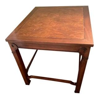 Traditional Kindel Rectangular Side Table For Sale