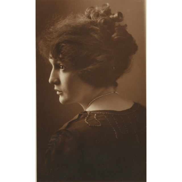1900s English Traditional Silver Gelatin Photographs Portraits of Woman -  Set of 5