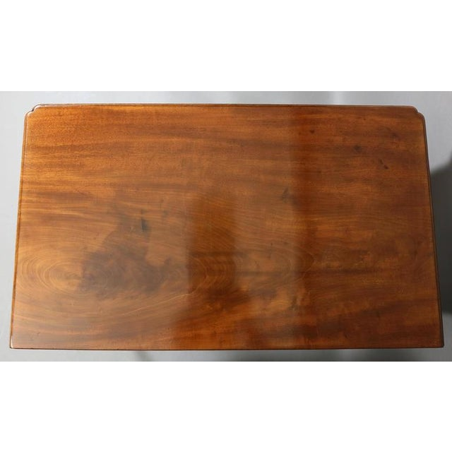 George III Mahogany Side Table For Sale - Image 4 of 7