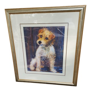"""Painting Titled """"Scamp"""" by Gillian Beale For Sale"""