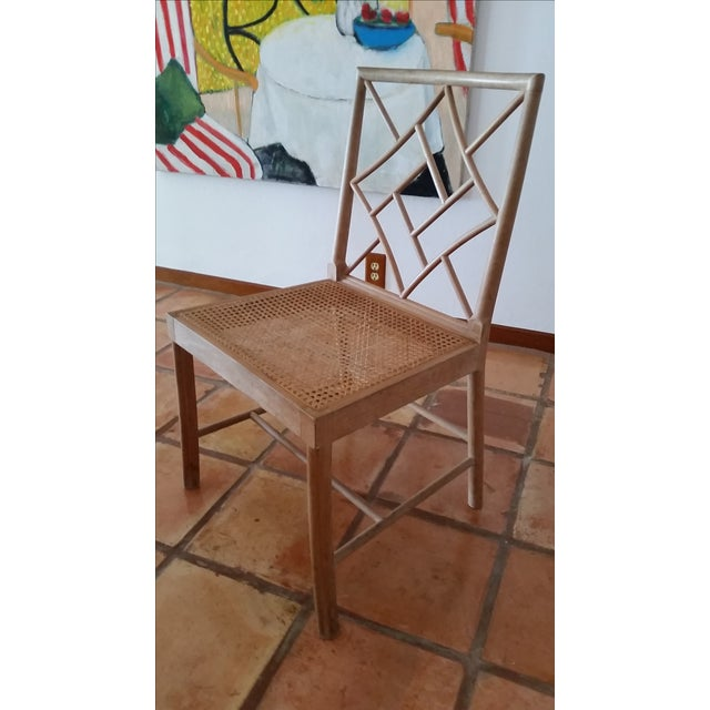 Maple Rattan Dining Chairs - 6 - Image 3 of 5