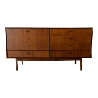 1960 Vintage Jack Cartwright for Founders Eight-Drawer Walnut Dresser