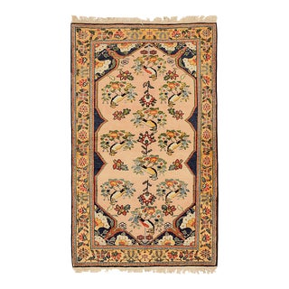 1950s Persian Area Rug Malayer Design For Sale