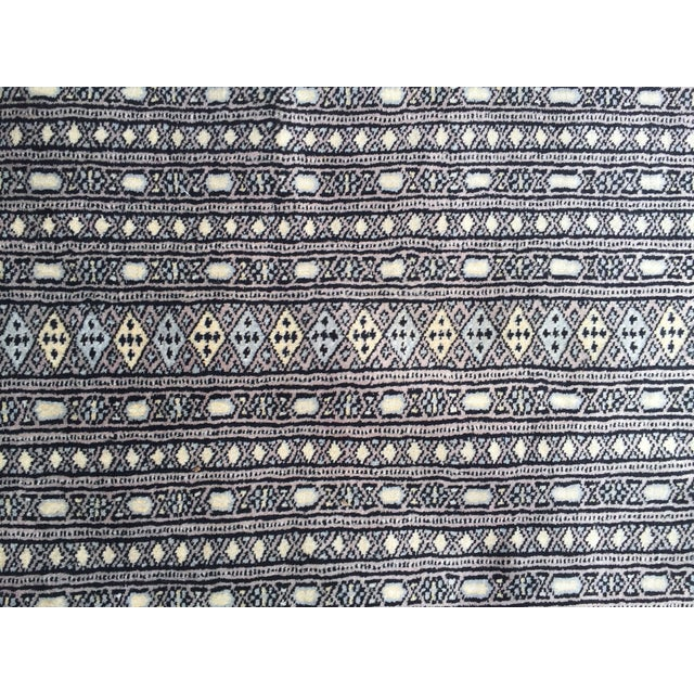 "Islamic Pakistani Bokhara Carpet - 10'5"" X 13'5"" Beautiful Mint Condition For Sale - Image 3 of 9"