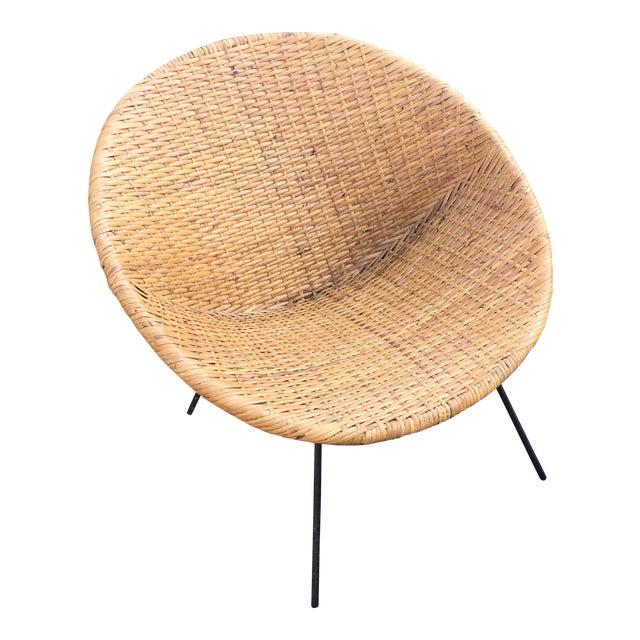 Mid-Century Modern Hoop Chair - Image 1 of 5