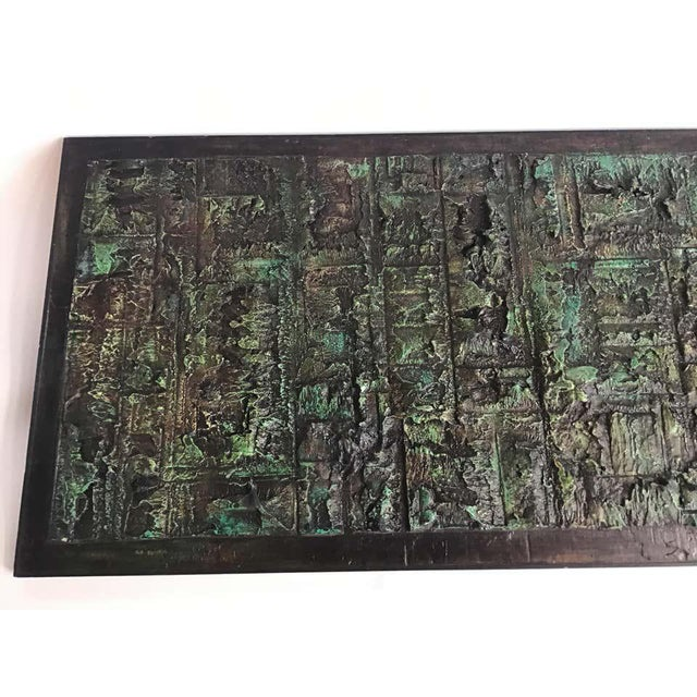 Large Abstract Impasto Painting by John Stritch For Sale In New York - Image 6 of 11