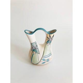 Vintage Southwestern Art Pottery Wedding Vase by Nandi Preview