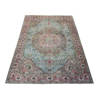 "Hammer Ori̇ental Turki̇sh İzmi̇r Hand Made Rug - 6'2""x 9'8"" For Sale"