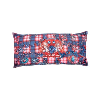 """Fleurs D'Ecosse"" Hermès Silk Scarf Pillow For Sale"
