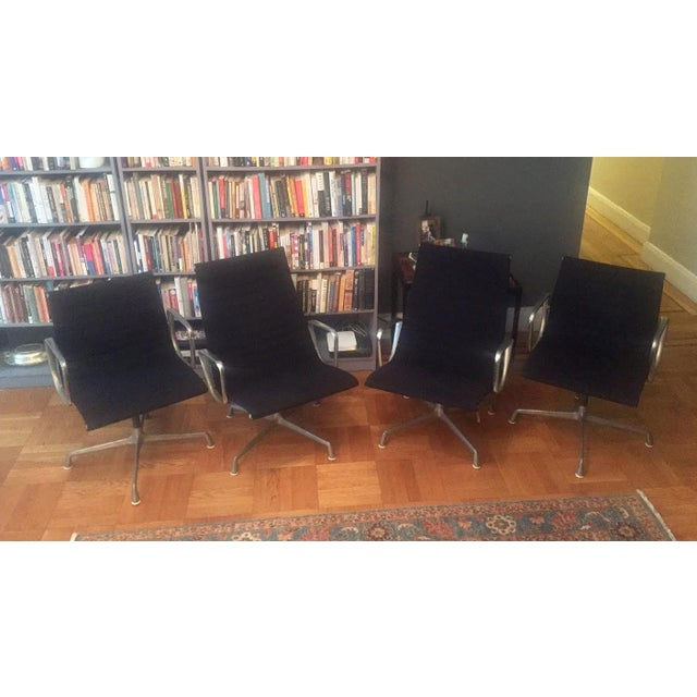 Eames Chairs High-Backed Chairs - Set of 4 - Image 2 of 11