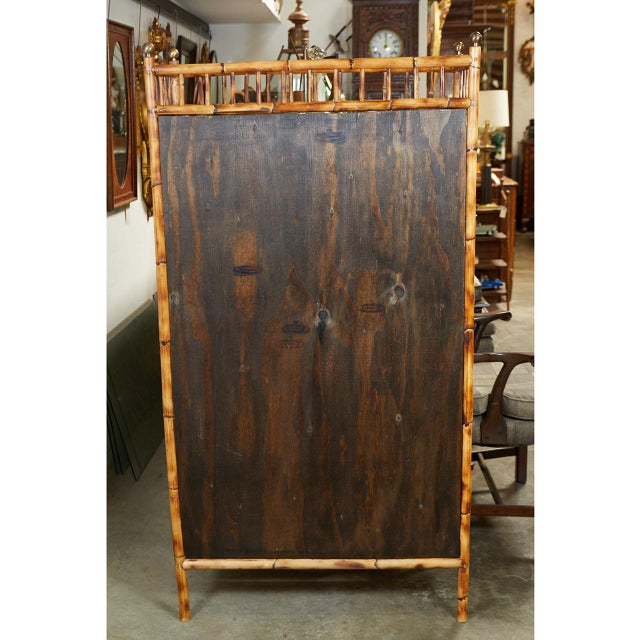 Jw Custom Line Bamboo Bookcase For Sale In Los Angeles - Image 6 of 8