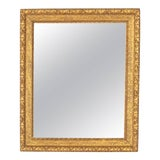 Image of French Napoleon III Giltwood Mirror For Sale