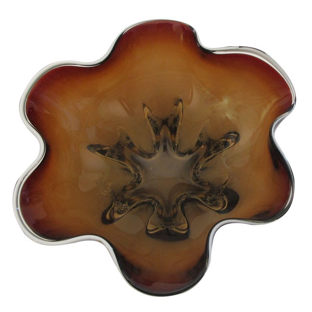 Hand Molded Glass Bowl - Image 1 of 5