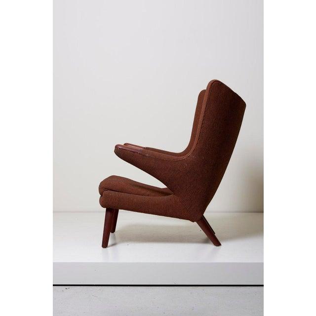 Hans J. Wegner Papa Bear Chair For Sale - Image 6 of 12