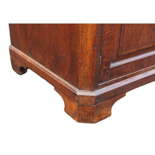 George II Oak Dresser Base or Sideboard For Sale In Boston - Image 6 of 9