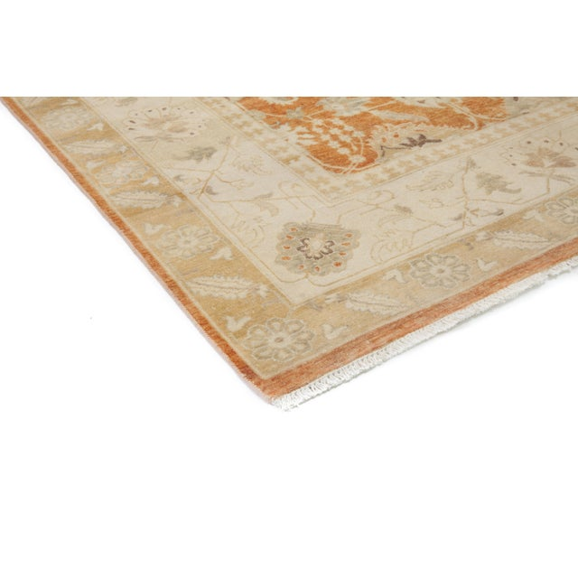 New Oushak Hand-Knotted Rug - 6′1″ × 9′ - Image 2 of 3