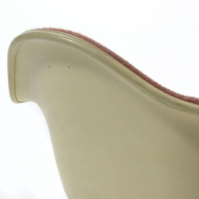 """Birch Eames """"Baby Rocker"""" Rar by Herman Miller with Alexander Girard Upholstery For Sale - Image 7 of 11"""