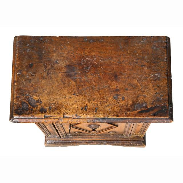 Baroque Italian Baroque Walnut Cabinet For Sale - Image 3 of 13