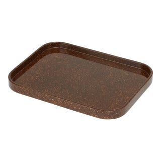 Miles Redd Collection Small Stacking Tray in Porphyry For Sale