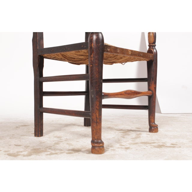 Antique Elizabethan-Style Spindle Chairs - A Pair For Sale In Nashville - Image 6 of 11