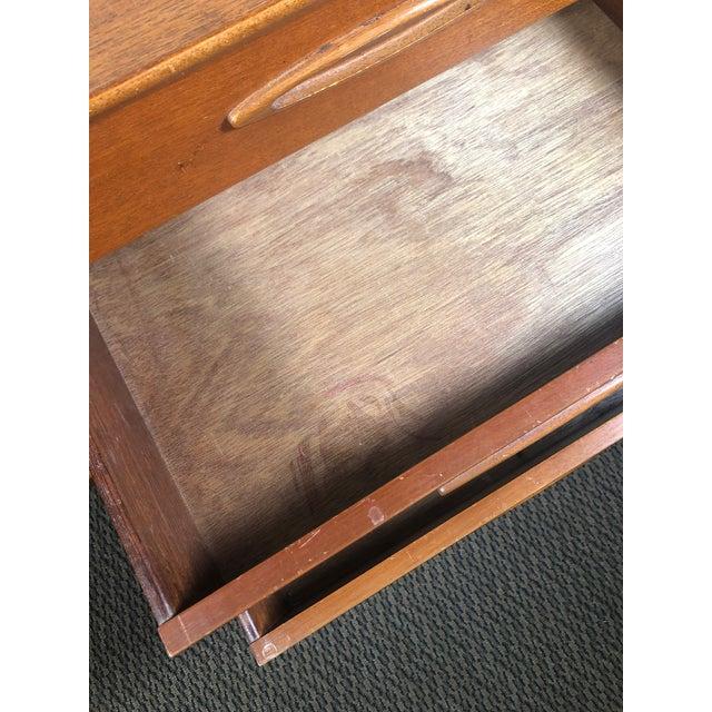 Wood Midcentury Teak Credenza Sideboard by Jentique For Sale - Image 7 of 13