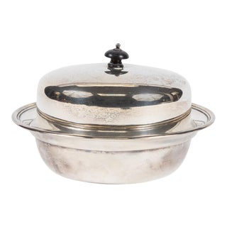 English Antique Silver Dish For Sale