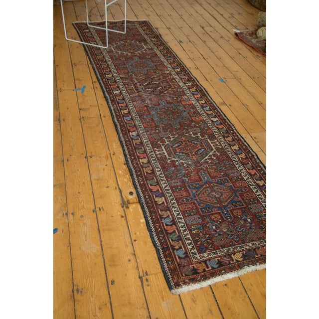 "Vintage Karaja Rug Runner - 2'9"" X 10'6"" For Sale - Image 9 of 10"