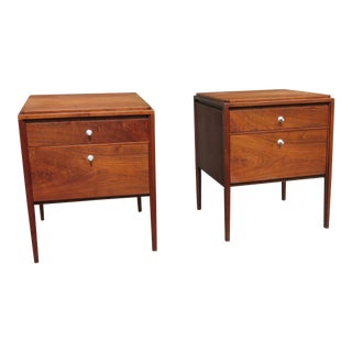 Paul McCobb Grand Rapids Collection for Widdicomb Nightstands - A Pair