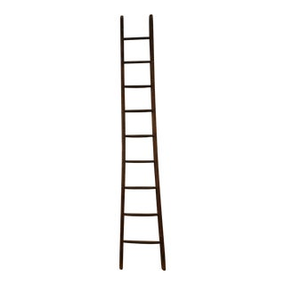 Antique Wood Electricians Ladder For Sale