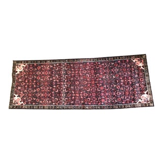 "Hussainabad Persian Runner Rug - 37"" x 101"" For Sale"