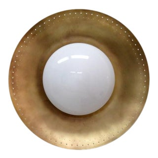 Gallery L7 Brass Wall Light 'Maine Xl' For Sale