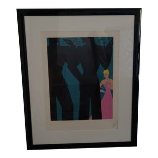 "Erté ""The Cocktail Party"" Artist Proof For Sale"