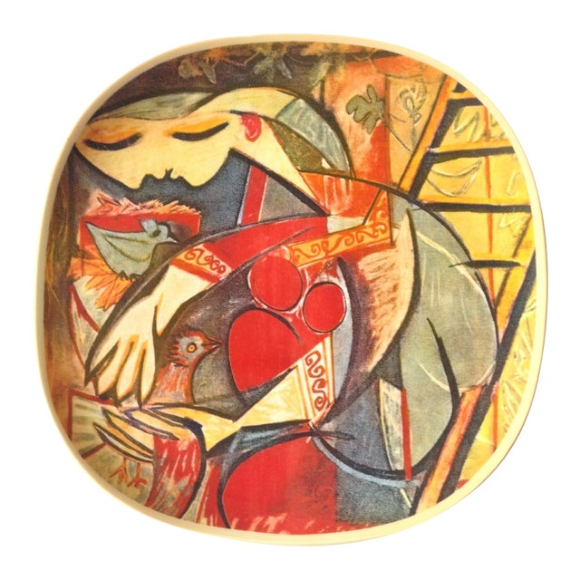 """Picasso Collector's Plate """"Farmer's Wife"""" - Image 1 of 5"""