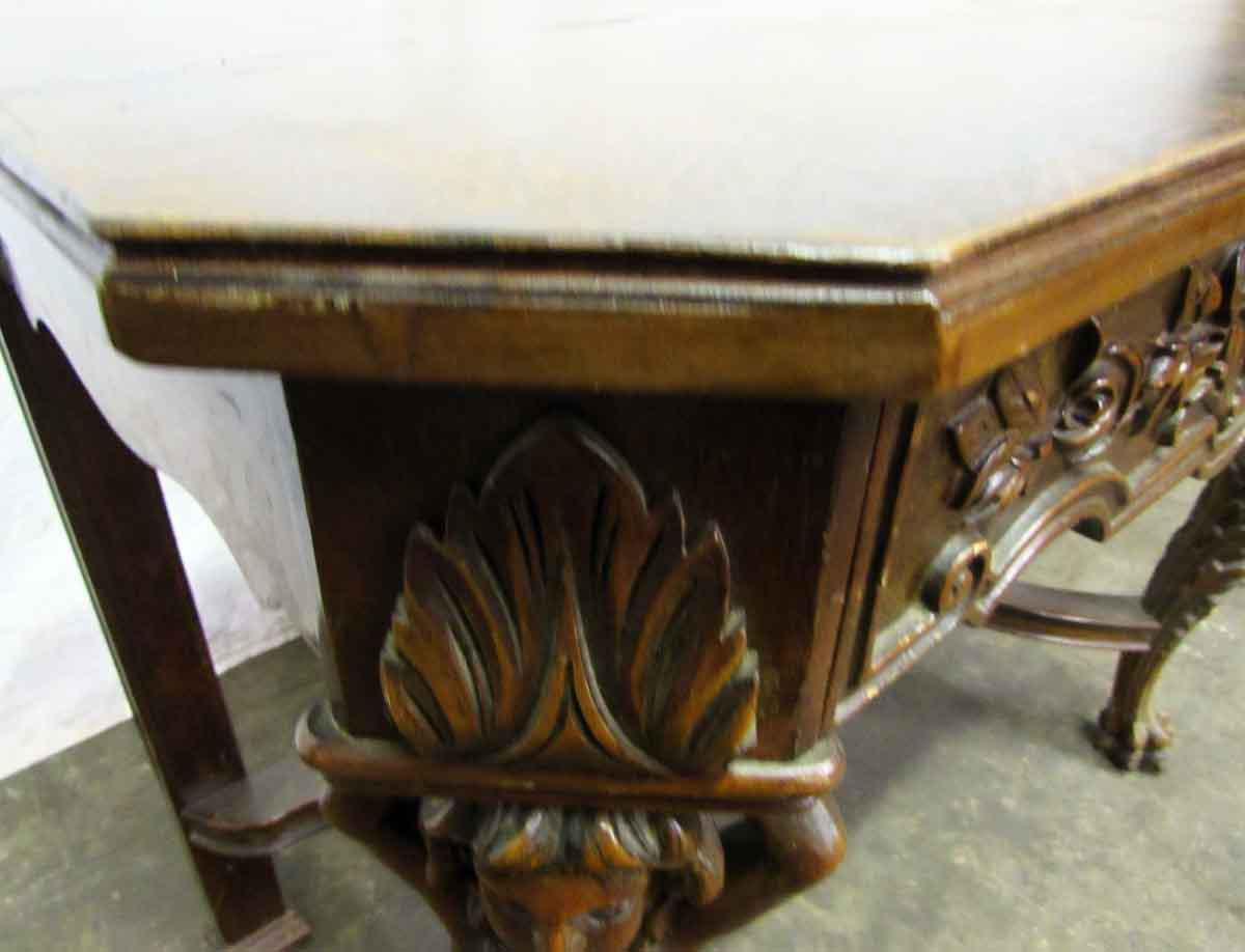 Bear Claw Wooden Console Table   Image 3 Of 10