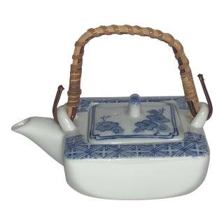 Antique Chinese Tea Pot Decor For Sale