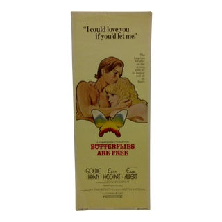 """""""Butterflies Are Free"""" Vintage Movie Poster For Sale"""