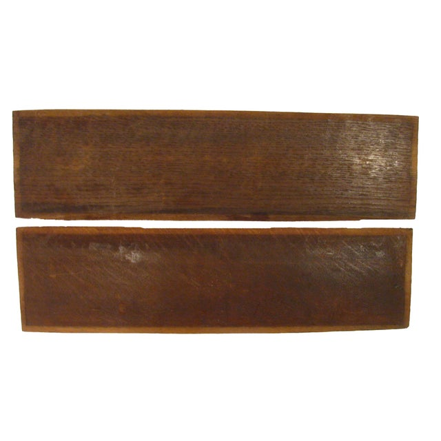 Vintage French Carved Wood Panels, A Pair For Sale - Image 4 of 4
