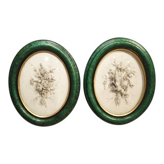 Pair of Antique French Plaster Plaques Representing Spring and Fall, J. Mondon 1897 For Sale