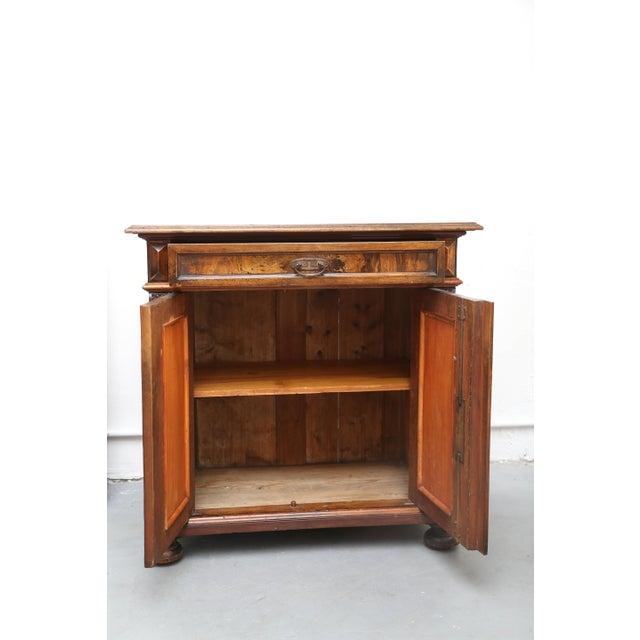 Biedermeier Style Walnut Cabinet, Germany, 1890 For Sale In Miami - Image 6 of 13