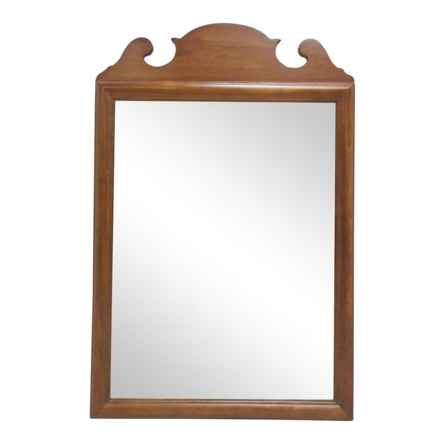 1776 Ethan Allen Dresser Hanging Wall Mirror For Sale